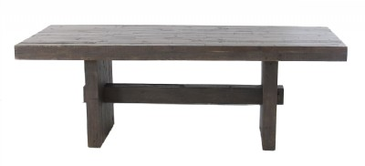 Stone Grey Reclaimed Dining Table