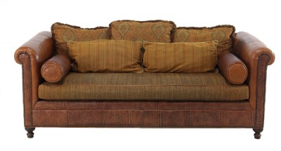 Stickley Sun Valley Leather Sofa