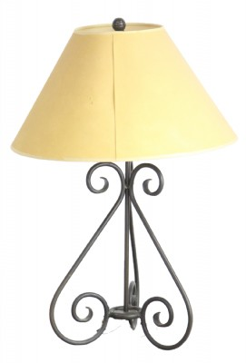 Wrought IronTable Lamp