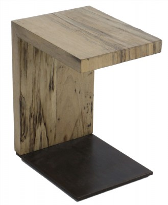 Spalted Primavera Wooden Occasional Table