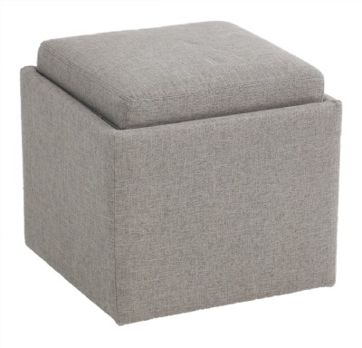 American Leather Upholstered Storage Ottoman