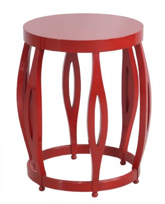 Red Lacquered Bunching Table