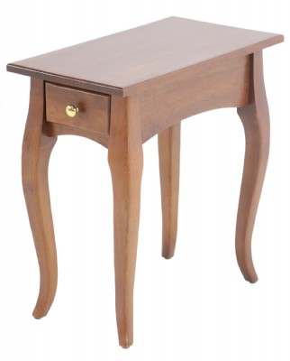 French Country Style Rectangular End Table