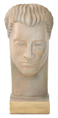 Abstract Sculpted Head on Stand