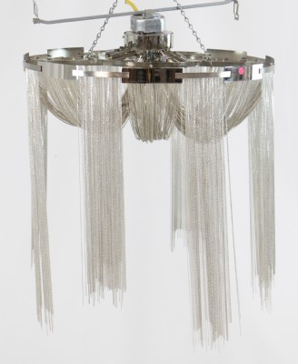 Contemporary Twisted Wire Chandelier